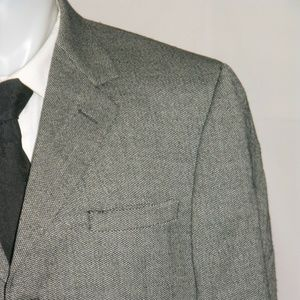 Versace Classic V2 Three Button Wool Blazer 42R